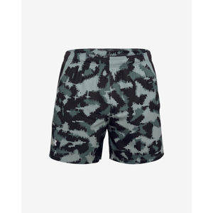 Under Armour Launch SW 5'' Camo Rövidnadrág Fekete