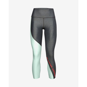 Under Armour HeatGear® Armour Wordmark 7/8 Legings Ezüst