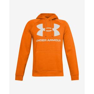 Under Armour Rival Fleece Big Logo Melegítőfelső Narancssárga