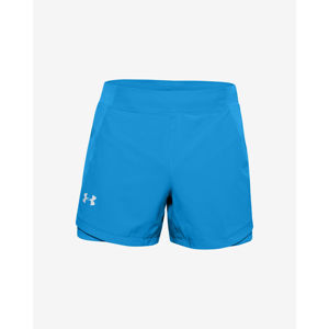 Under Armour Qualifier Speedpocket 5'' Rövidnadrág Kék