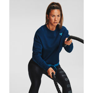 Under Armour Project Rock Charged Cotton Fleece Melegítőfelső Kék