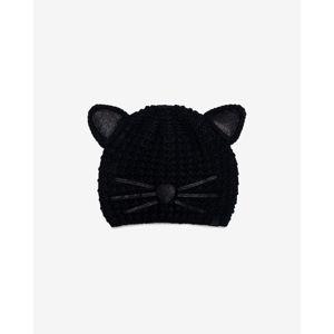 Karl Lagerfeld Choupette Luxury Sapka Fekete