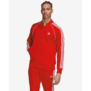 adidas Originals Adicolor Classics Primeblue SST Melegítőfelső Piros