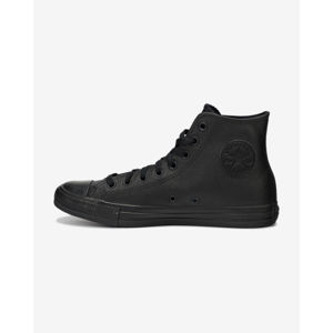 Converse Chuck Taylor All Star Leather Hi Sportcipő Fekete