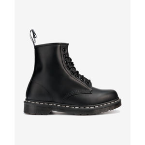 Dr. Martens 1460 Contrast Stitch Smooth Leather Bokacsizma Fekete