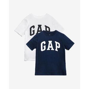 GAP 2 db-os Gyerek póló szett Kék Fehér