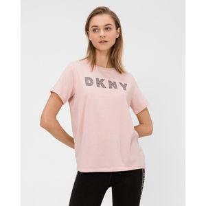 DKNY Póló Rózsaszín