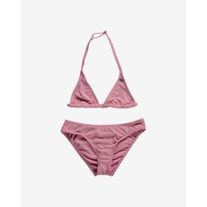 O'Neill Essential Kétrészes gyerek fürdőruha Rózsaszín
