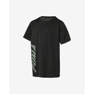 Puma Tech Gyerek póló Fekete