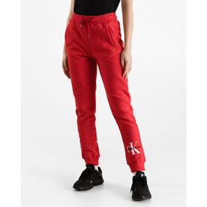 Calvin Klein Monogram Melegítő nadrág Piros