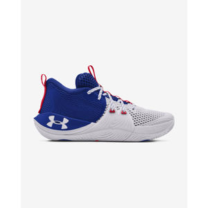 Under Armour Embiid One Basketball Sportcipő Kék Fehér
