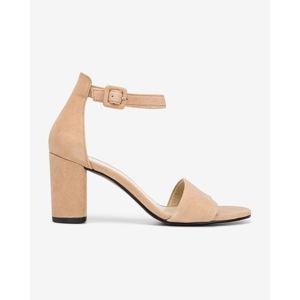 Vagabond Penny Magassarkú cipő Bézs