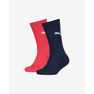Puma Gyerek zokni 2 pár Kék Piros