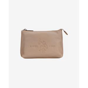 U.S. Polo Assn Kozmetikai táska Bézs
