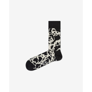 Happy Socks Marble Zokni Fekete