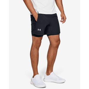 Under Armour Qualifier 2-in-1 Rövidnadrág Fekete
