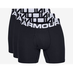 """Under Armour Charged Cotton® 6"""" Boxeralsó 3 ks Fekete"""