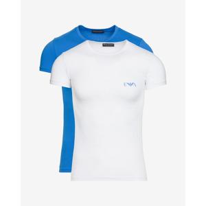 Emporio Armani 2 db-os Alsó póló szett Kék Fehér
