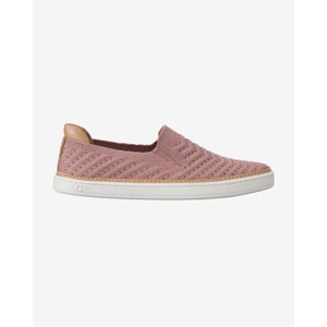 UGG Sammy Chevron Metallic Slip On Rózsaszín Bézs