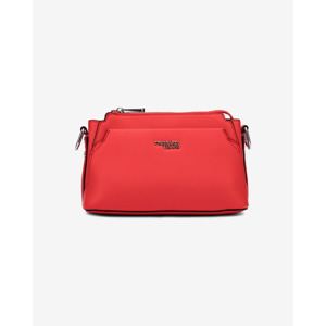Trussardi Jeans Berry Medium Crossbody táska Piros