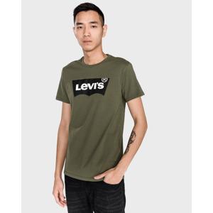 Levi's Housemark Graphic Póló Zöld