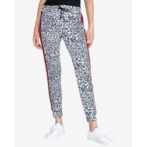 Versace Jeans Melegítő nadrág Fekete Fehér