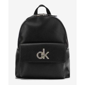 Calvin Klein Re-Lock Hátizsák Fekete