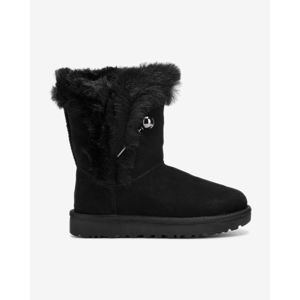 UGG Classic Fluff Snow boots Fekete