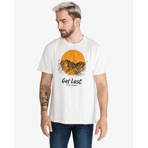 Pepe Jeans Bernard T-shirt Fehér