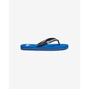Quiksilver Molokai  Gyerek strandpapucs Fekete Kék