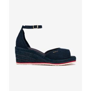 Gant Wedgeville Telitalpú cipő Kék