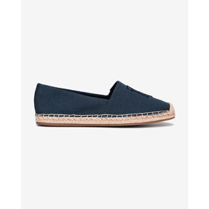 Tommy Hilfiger Nautical Monogram Espadrilles Kék