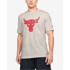 Under Armour Project Rock Brahma Bull Póló Fehér