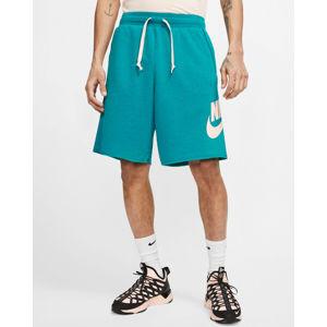 Nike Sportswear Rövidnadrág Kék Zöld
