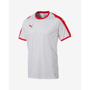 Puma Liga Jersey Póló Piros Fehér