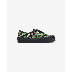 Vans The Simpsons Authentic Glow Bart Gyerek sportcipő Fekete
