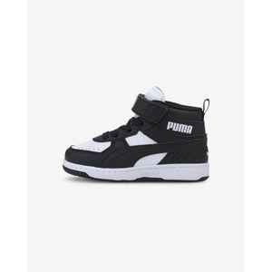 Puma Rebound Joy Gyerek sportcipő Fekete Fehér