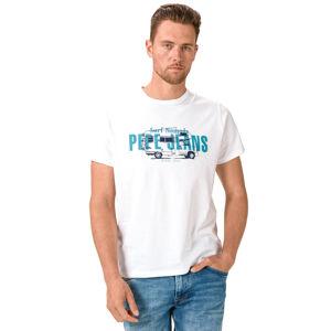 Pepe Jeans Mason Póló Fehér