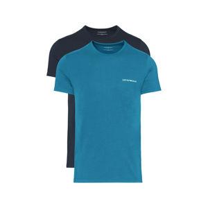 Emporio Armani 2 db-os Alsó póló szett Fekete Kék