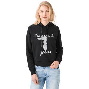 Trussardi Jeans Melegítő felső Fekete