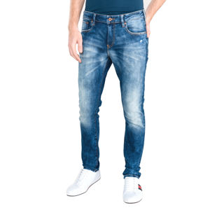 Scotch & Soda Skim Farmernadrág Kék