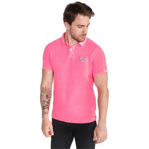 SuperDry Teniszpóló Rózsaszín