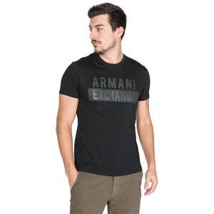 Armani Exchange Póló Fekete