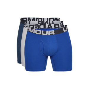 "Under Armour Charged Cotton® 6"" Boxeralsó 3 ks Kék Szürke"