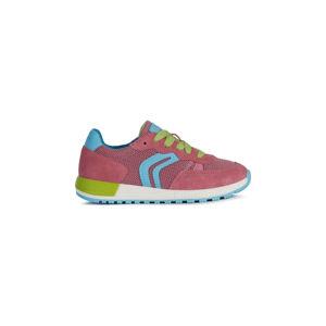Geox Alben Gyerek sportcipő Rózsaszín Többszínű