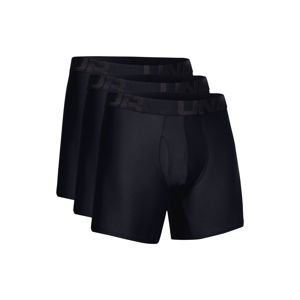 "Under Armour Tech™ 6"" Boxeralsó 3 db Fekete"