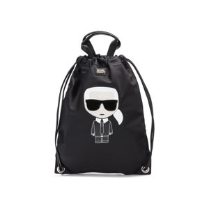 Karl Lagerfeld Ikonik Gymsack Fekete
