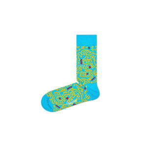 Happy Socks Keith Haring All Over Socks Kék