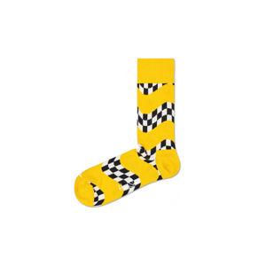 Happy Socks Race Zokni Sárga