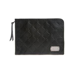 Longchamp LM Cuir Tablet tok Fekete